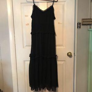 H&M Black Maxi Dress